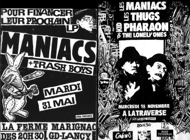 flyers Les Maniacs suisse