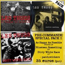 Pré-commande Les Thugs LP