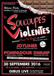 Soucoupes Violentes Release Party 30/09