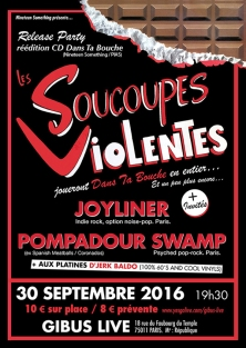 Soucoupes Violentes Release Party 30/09